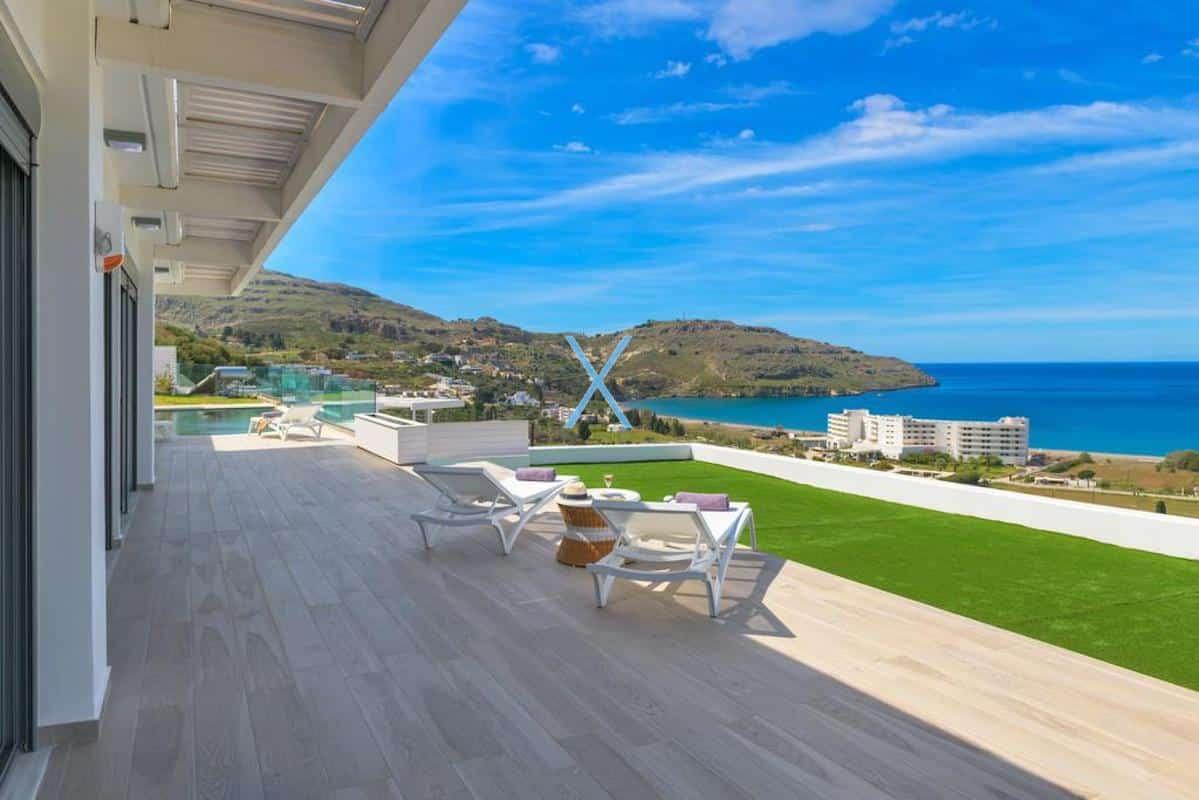 Sea View Villas Rhodes Greece, Lindos