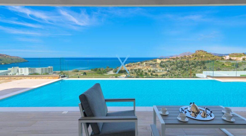 Sea View Villas Rhodes Greece, Lindos. Luxury Properties for Sale Rodos Greece 13