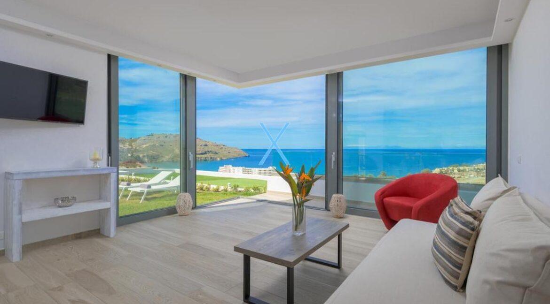 Sea View Villas Rhodes Greece, Lindos. Luxury Properties for Sale Rodos Greece 14