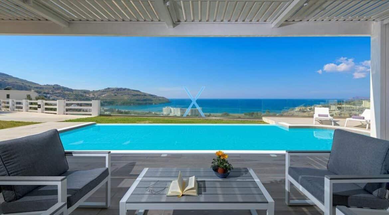 Sea View Villas Rhodes Greece, Lindos. Luxury Properties for Sale Rodos Greece 21