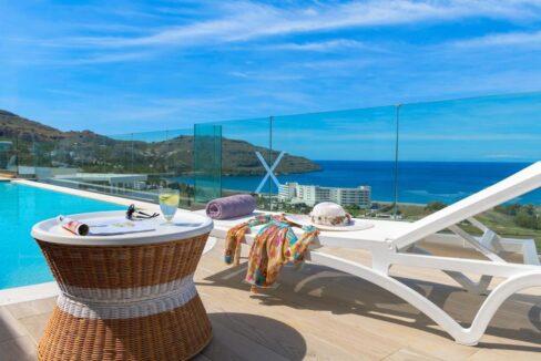 Sea View Villas Rhodes Greece, Lindos. Luxury Properties for Sale Rodos Greece 27