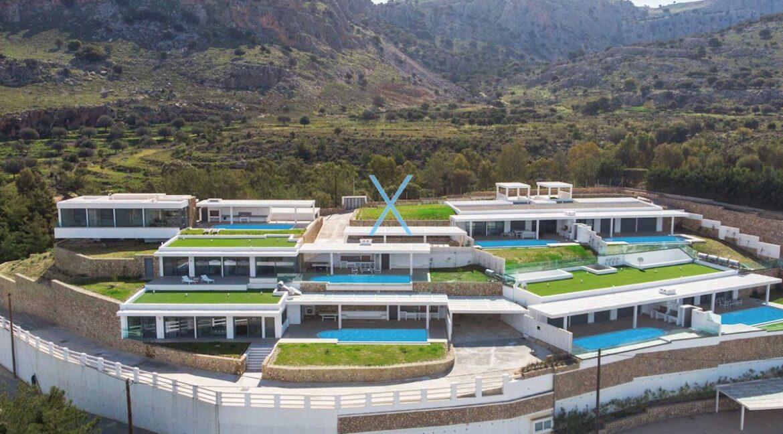 Sea View Villas Rhodes Greece, Lindos. Luxury Properties for Sale Rodos Greece 3