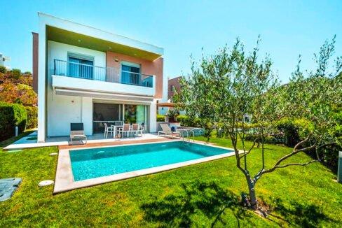 Villa in Kassandra Halkidiki, Pefkohori Halkidiki for sale. Halkidiki Properties 22