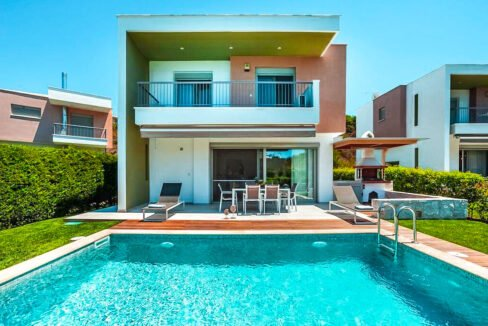Villa in Kassandra Halkidiki, Pefkohori Halkidiki for sale. Halkidiki Properties 23