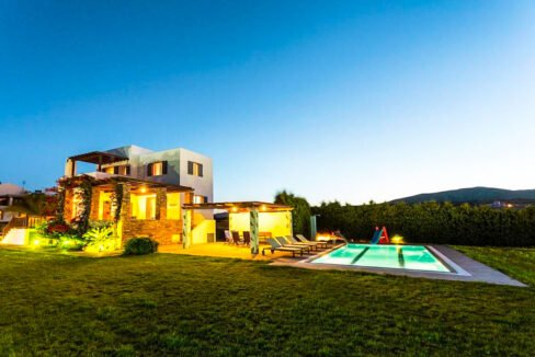 Villa is in Rhodes Island, just 200 m from the beach. Property for Sale Rhodes Greece 14