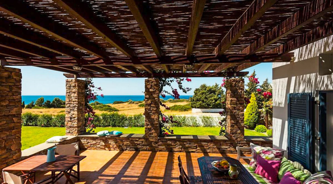 Villa is in Rhodes Island, just 200 m from the beach. Property for Sale Rhodes Greece 21