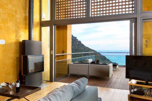 Luxury villas at Chania Crete Greece, Crete Greece Properties for Sale. Buy Seaview Villa Crete Island 1