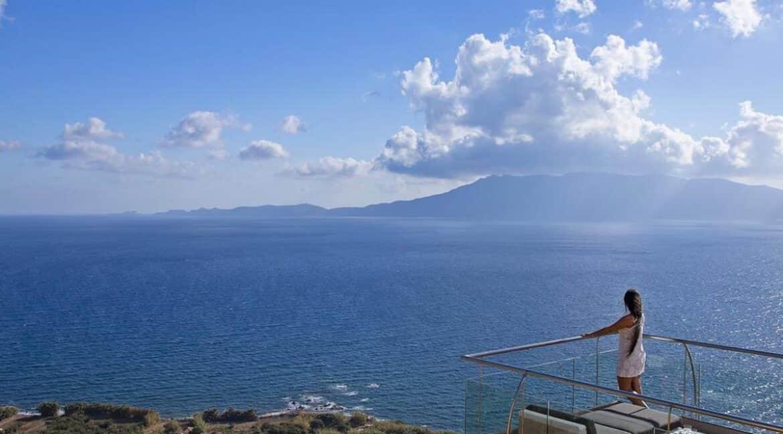Luxury villas at Chania Crete Greece, Crete Greece Properties for Sale. Buy Seaview Villa Crete Island 11