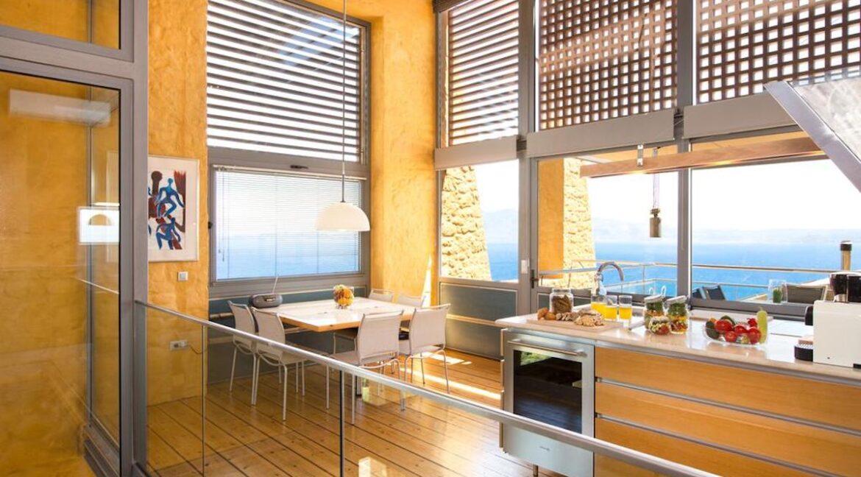 Luxury villas at Chania Crete Greece, Crete Greece Properties for Sale. Buy Seaview Villa Crete Island 12