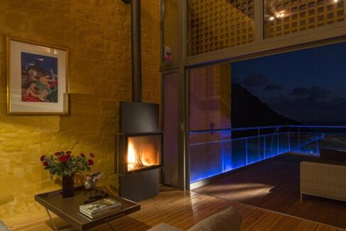 Luxury villas at Chania Crete Greece, Crete Greece Properties for Sale. Buy Seaview Villa Crete Island 14