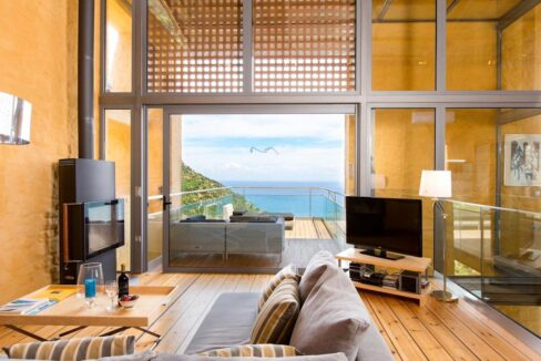 Luxury villas at Chania Crete Greece, Crete Greece Properties for Sale. Buy Seaview Villa Crete Island 15