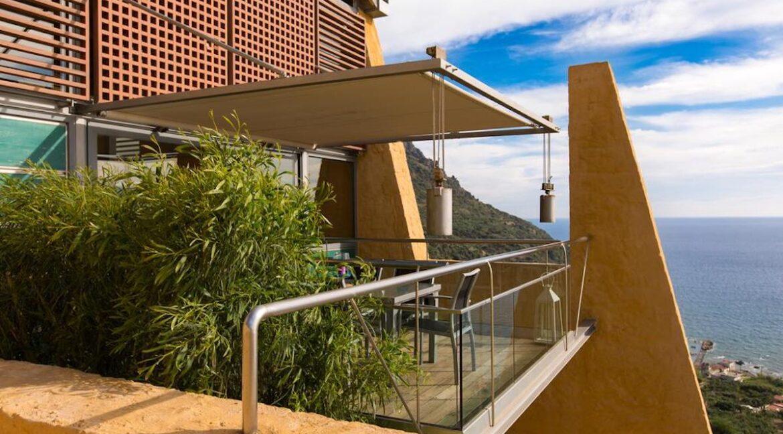 Luxury villas at Chania Crete Greece, Crete Greece Properties for Sale. Buy Seaview Villa Crete Island 16