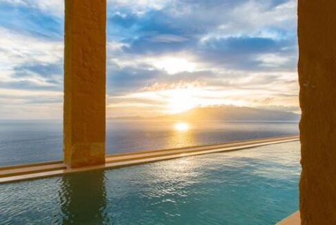 Luxury villas at Chania Crete Greece, Crete Greece Properties for Sale. Buy Seaview Villa Crete Island 17
