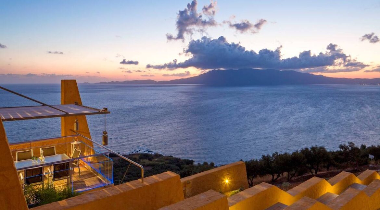 Luxury villas at Chania Crete Greece, Crete Greece Properties for Sale. Buy Seaview Villa Crete Island 19