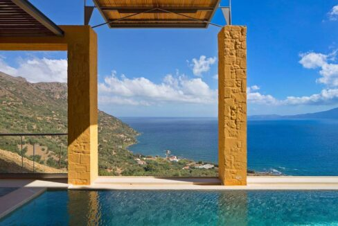 Luxury villas at Chania Crete Greece, Crete Greece Properties for Sale. Buy Seaview Villa Crete Island 20