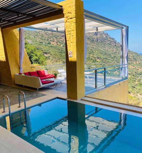 Luxury villas at Chania Crete Greece, Crete Greece Properties for Sale. Buy Seaview Villa Crete Island 23