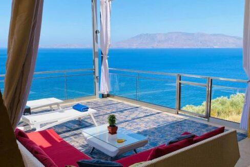 Luxury villas at Chania Crete Greece, Crete Greece Properties for Sale. Buy Seaview Villa Crete Island 24
