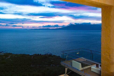 Luxury villas at Chania Crete Greece, Crete Greece Properties for Sale. Buy Seaview Villa Crete Island 25