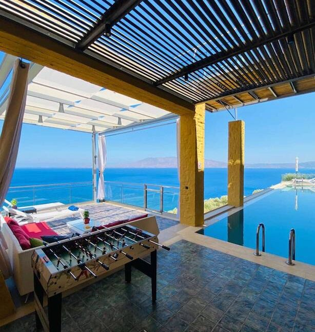 Luxury villas at Chania Crete Greece, Crete Greece Properties for Sale. Buy Seaview Villa Crete Island 27