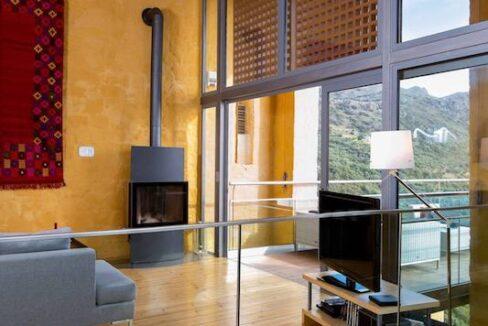 Luxury villas at Chania Crete Greece, Crete Greece Properties for Sale. Buy Seaview Villa Crete Island 28