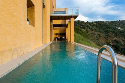 Luxury villas at Chania Crete Greece, Crete Greece Properties for Sale. Buy Seaview Villa Crete Island 3