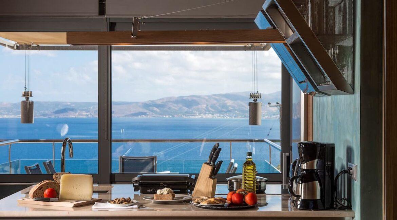 Luxury villas at Chania Crete Greece, Crete Greece Properties for Sale. Buy Seaview Villa Crete Island 37