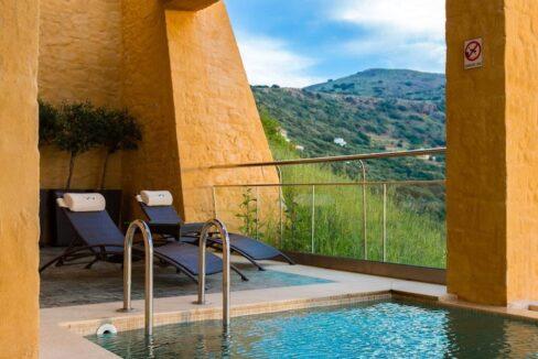 Luxury villas at Chania Crete Greece, Crete Greece Properties for Sale. Buy Seaview Villa Crete Island 4