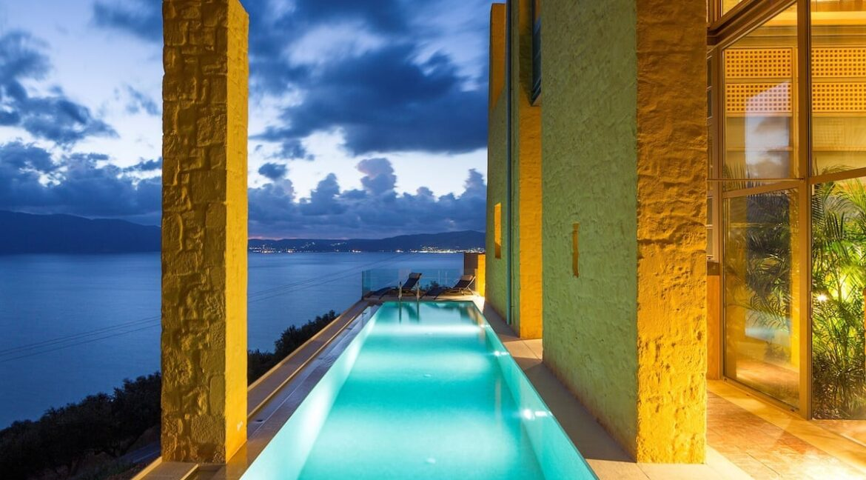 Luxury villas at Chania Crete Greece, Crete Greece Properties for Sale. Buy Seaview Villa Crete Island