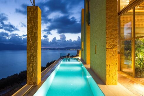 Luxury villas at Chania Crete Greece, Crete Greece Properties for Sale. Buy Seaview Villa Crete Island 40