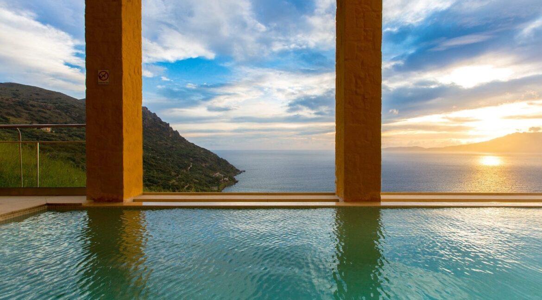 Luxury villas at Chania Crete Greece, Crete Greece Properties for Sale. Buy Seaview Villa Crete Island 5