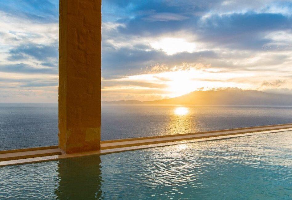 Luxury villas at Chania Crete Greece, Crete Greece Properties for Sale. Buy Seaview Villa Crete Island 6