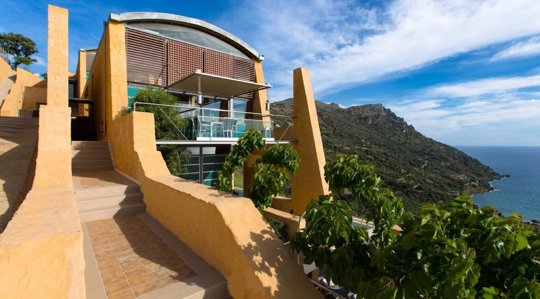Luxury villas at Chania Crete Greece, Crete Greece Properties for Sale. Buy Seaview Villa Crete Island 7