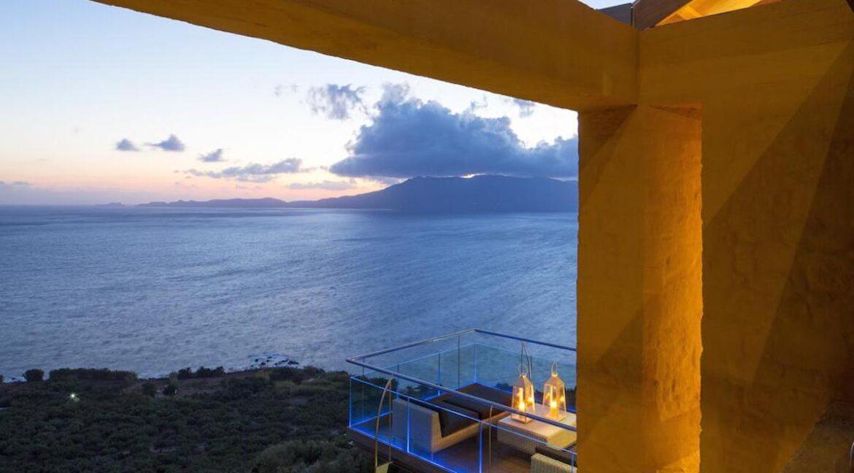 Luxury villas at Chania Crete Greece, Crete Greece Properties for Sale. Buy Seaview Villa Crete Island 8