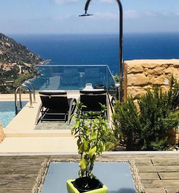 Luxury villas at Chania Crete Greece, Crete Greece Properties for Sale. Buy Seaview Villa Crete Island 9