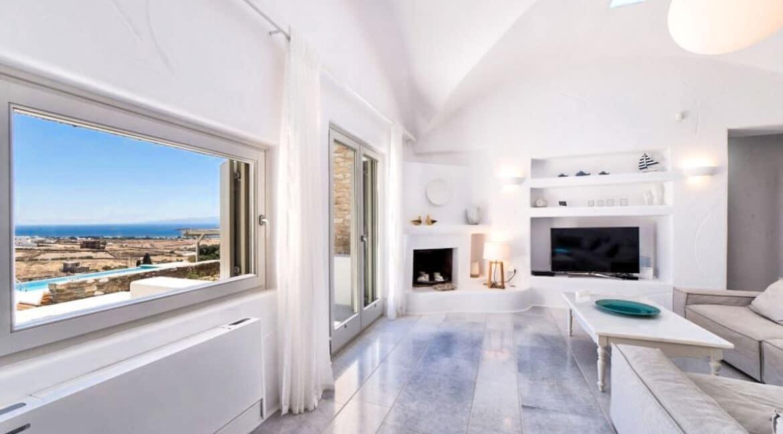 Sea view Villa Paros Island, Golden Beach Paros Property for sale. Paros Homes for Sale 17