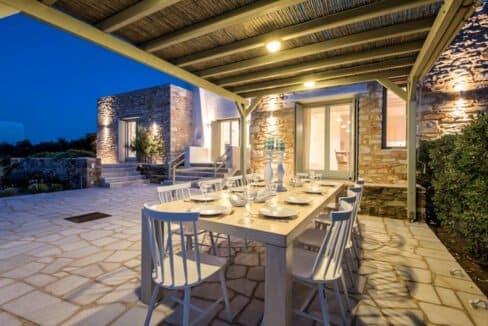 Sea view Villa Paros Island, Golden Beach Paros Property for sale. Paros Homes for Sale 2