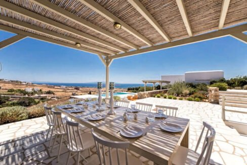 Sea view Villa Paros Island, Golden Beach Paros Property for sale. Paros Homes for Sale 21