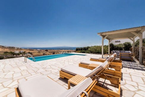 Sea view Villa Paros Island, Golden Beach Paros Property for sale. Paros Homes for Sale 22