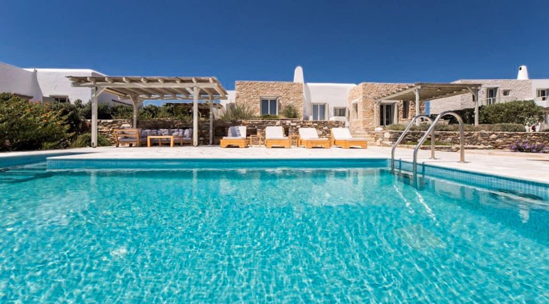 Sea view Villa Paros Island, Golden Beach Paros Property for sale. Paros Homes for Sale