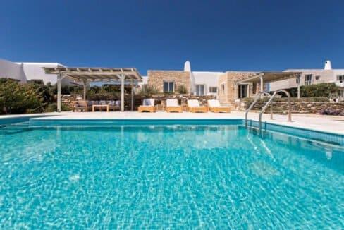 Sea view Villa Paros Island, Golden Beach Paros Property for sale. Paros Homes for Sale 24