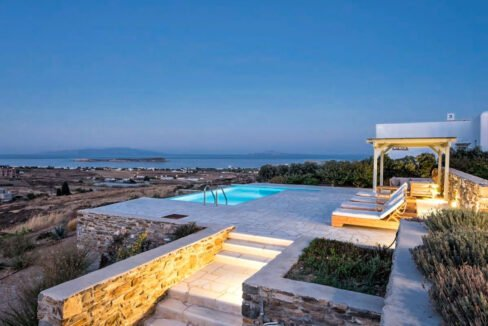 Sea view Villa Paros Island, Golden Beach Paros Property for sale. Paros Homes for Sale 3