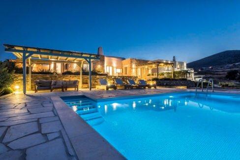 Sea view Villa Paros Island, Golden Beach Paros Property for sale. Paros Homes for Sale 4