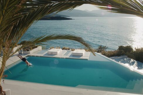 Stunning Big Seafront Villa in Crete Greece 12