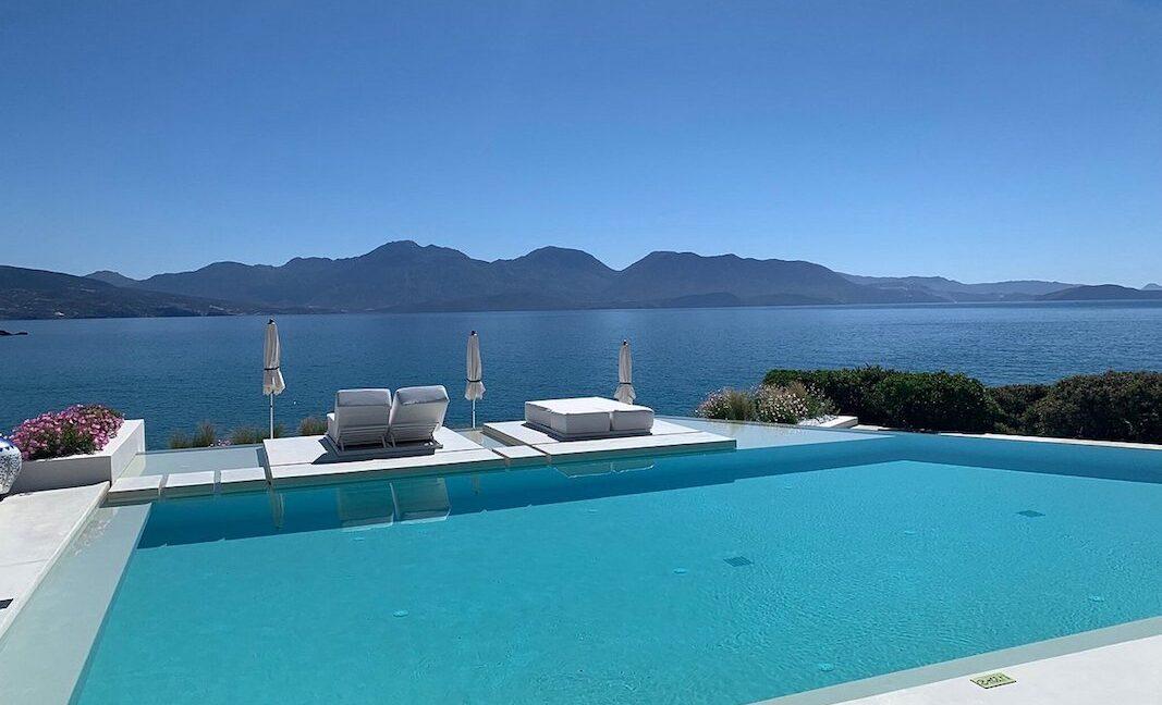 Stunning Big Seafront Villa in Crete Greece 13