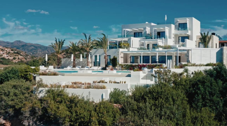 Stunning Big Seafront Villa in Crete Greece 6
