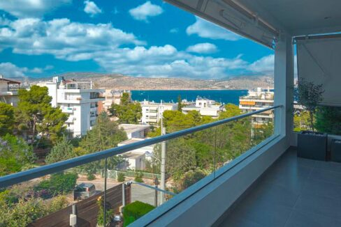 Apartment with a garden and a swimming pool, Varkiza Athens for sale. Luxury Property for sale near Vouliagmeni 12
