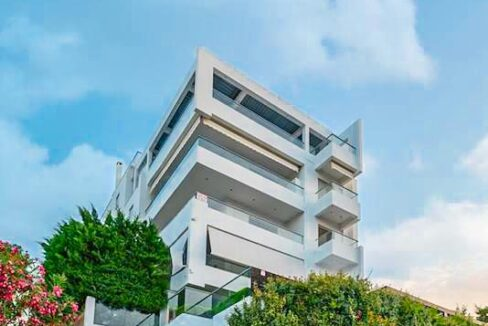 Apartment with a garden and a swimming pool, Varkiza Athens for sale. Luxury Property for sale near Vouliagmeni 16