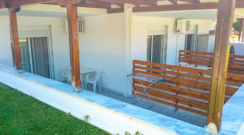 Hotel of 12 Studios in Kassandra Halkidiki , Hotel for sale Halkidiki, Hotel for sale Kassandra Greece 1