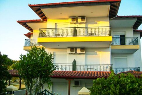 Hotel of 12 Studios in Kassandra Halkidiki , Hotel for sale Halkidiki, Hotel for sale Kassandra Greece 3