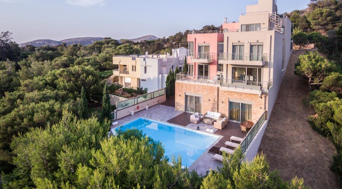 Luxury Property Anavyssos South West Athens , Luxury Villas for Sale Athens Greece